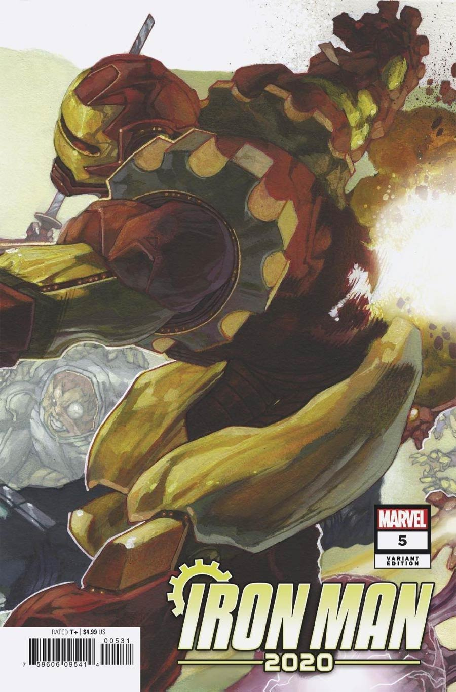 Iron Man 2020 #5 Cover C Variant Simone Bianchi Connecting Cover