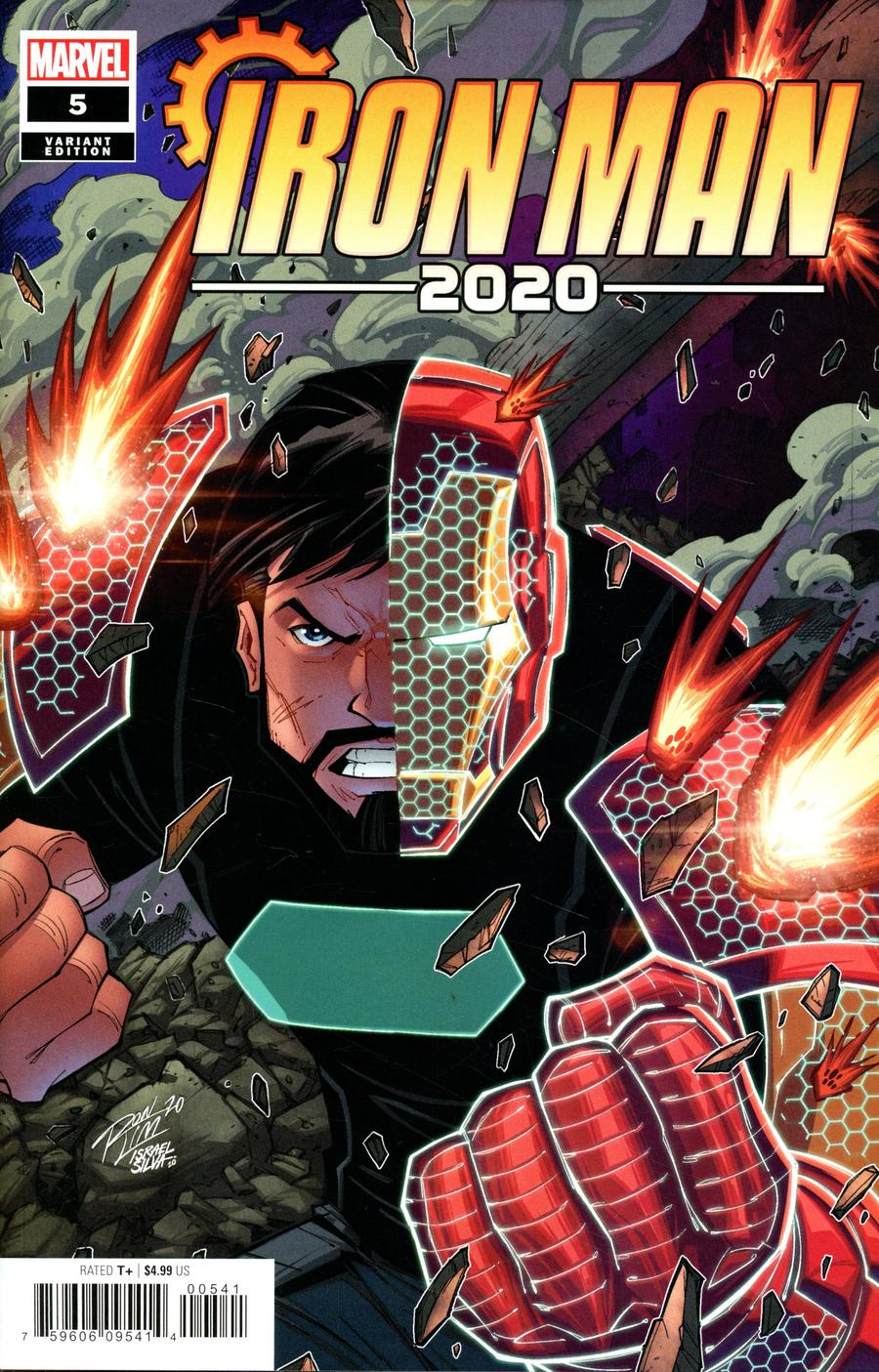 Iron Man 2020 #5 Cover D Variant Ron Lim Cover