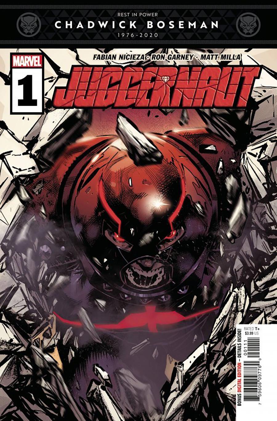 Juggernaut #1 Cover A 1st Ptg Regular Geoff Shaw Cover