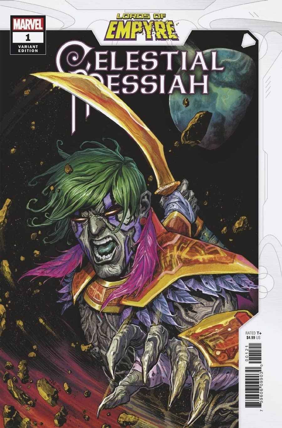 Lords Of Empyre Celestial Messiah One Shot Cover B Variant Josh Cassara Cover