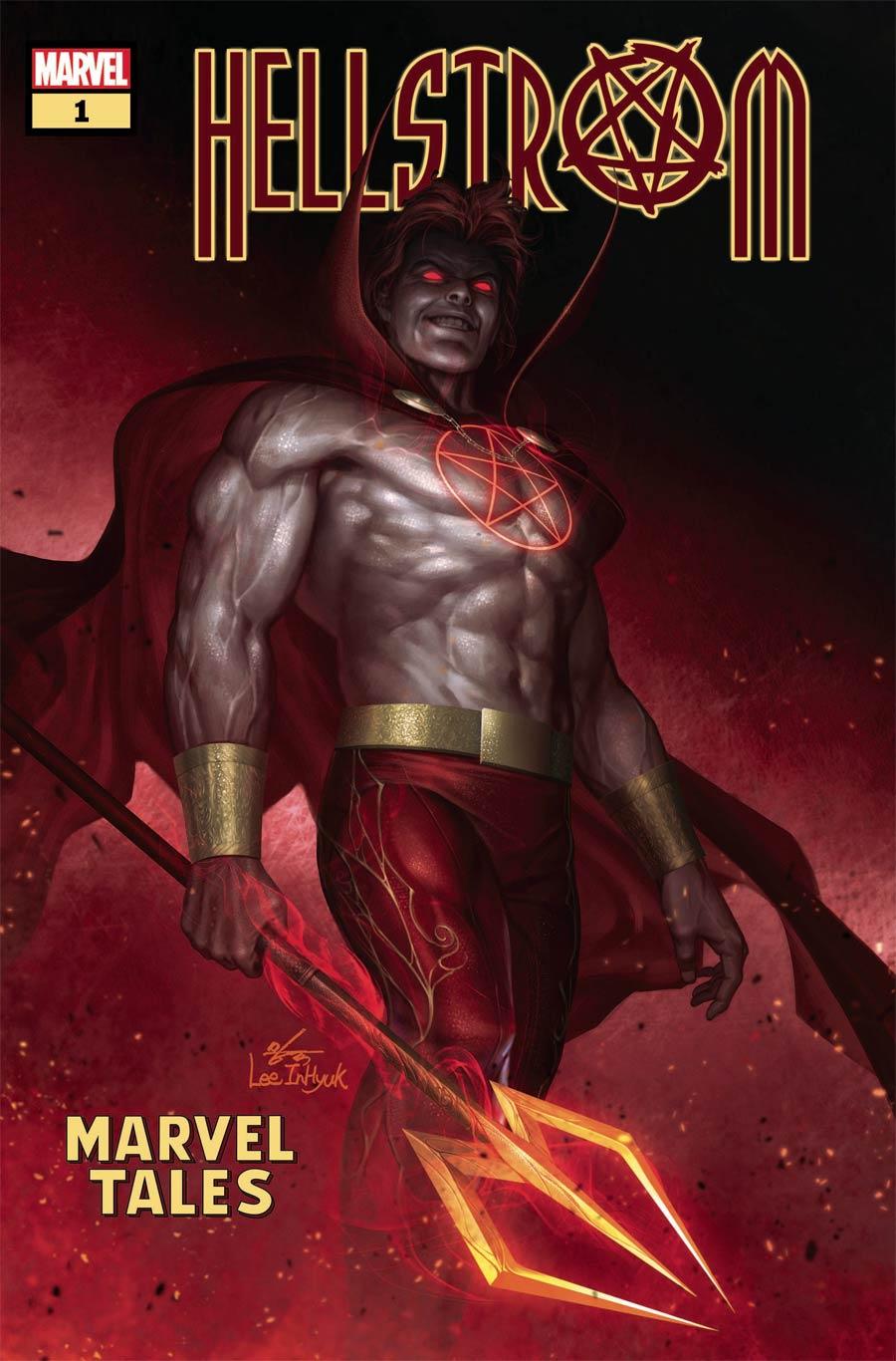 Hellstrom Marvel Tales #1 Cover A Regular Inhyuk Lee Cover