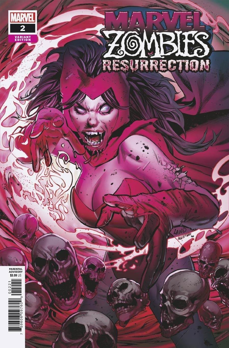 Marvel Zombies Resurrection #2 Cover B Variant Greg Land Cover