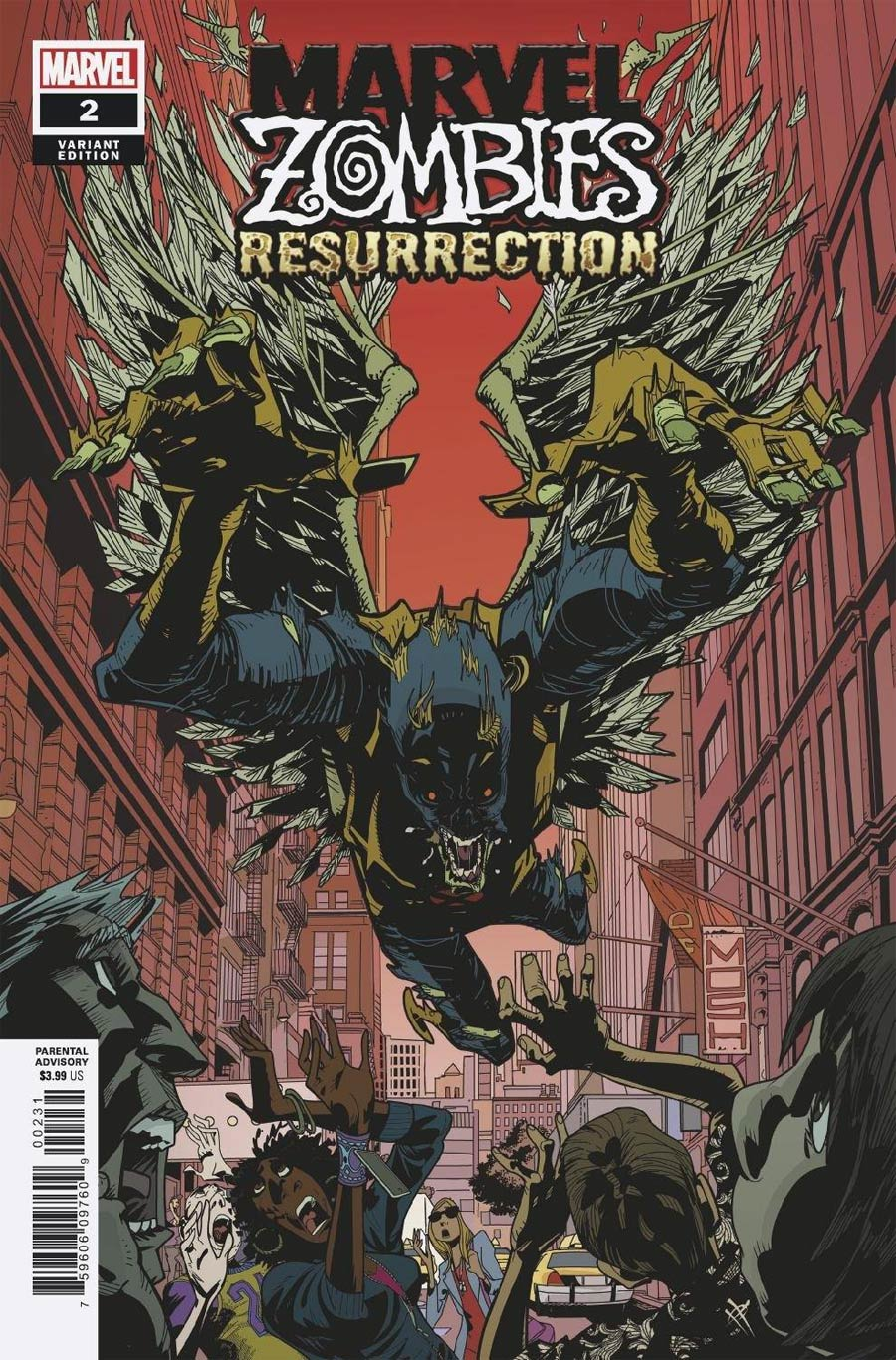 Marvel Zombies Resurrection #2 Cover C Variant Damion Scott Cover