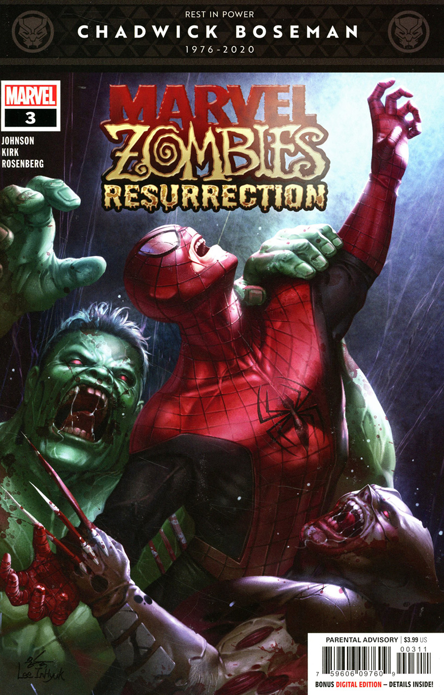 Marvel Zombies Resurrection #3 Cover A Regular Inhyuk Lee Cover