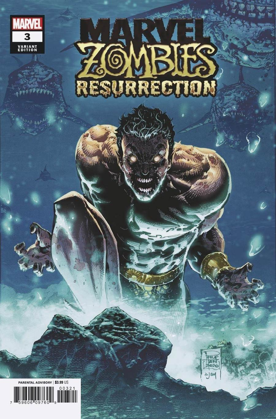 Marvel Zombies Resurrection #3 Cover B Variant Philip Tan Cover