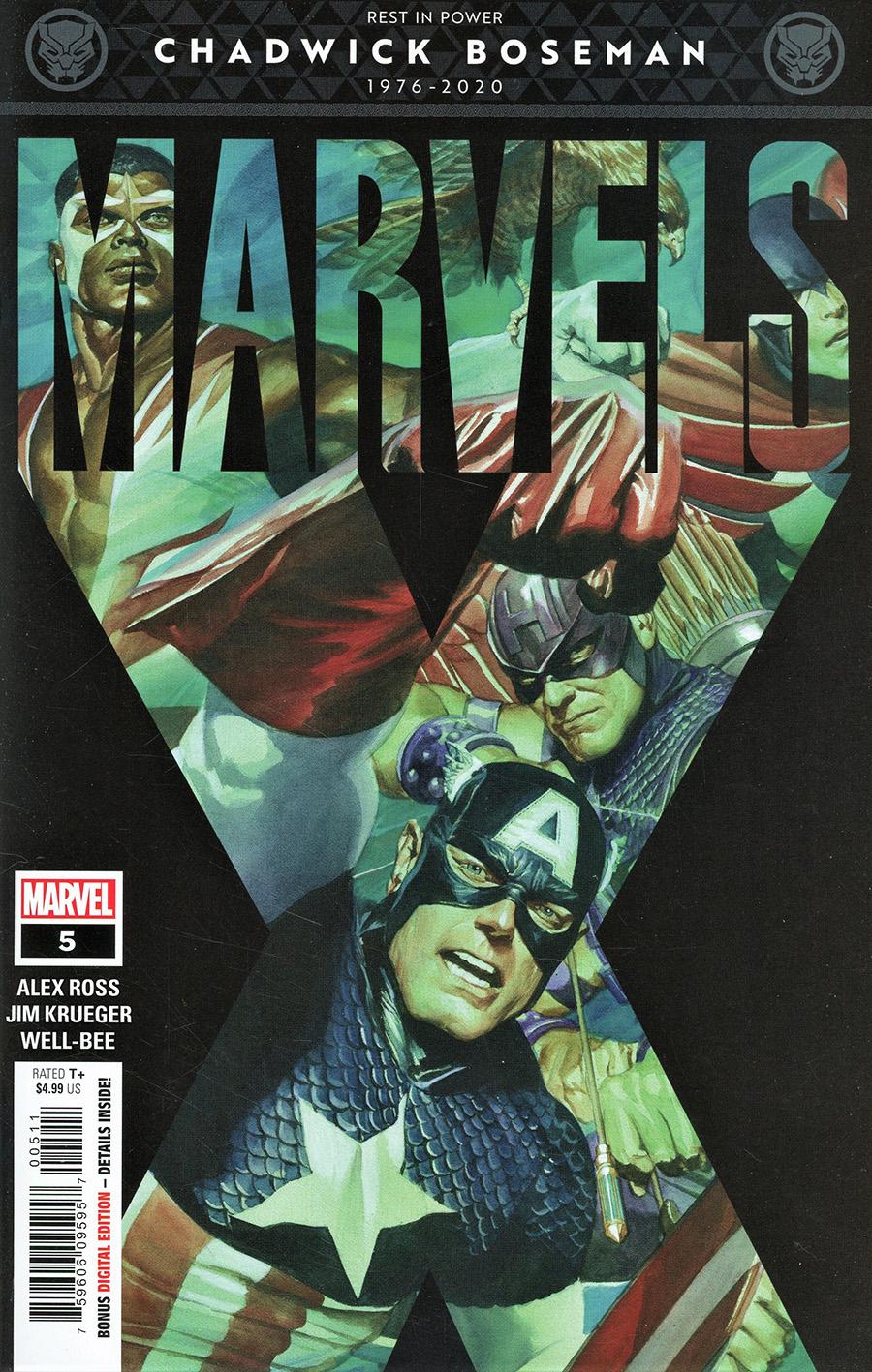 Marvels X #5 Cover A Regular Alex Ross Cover