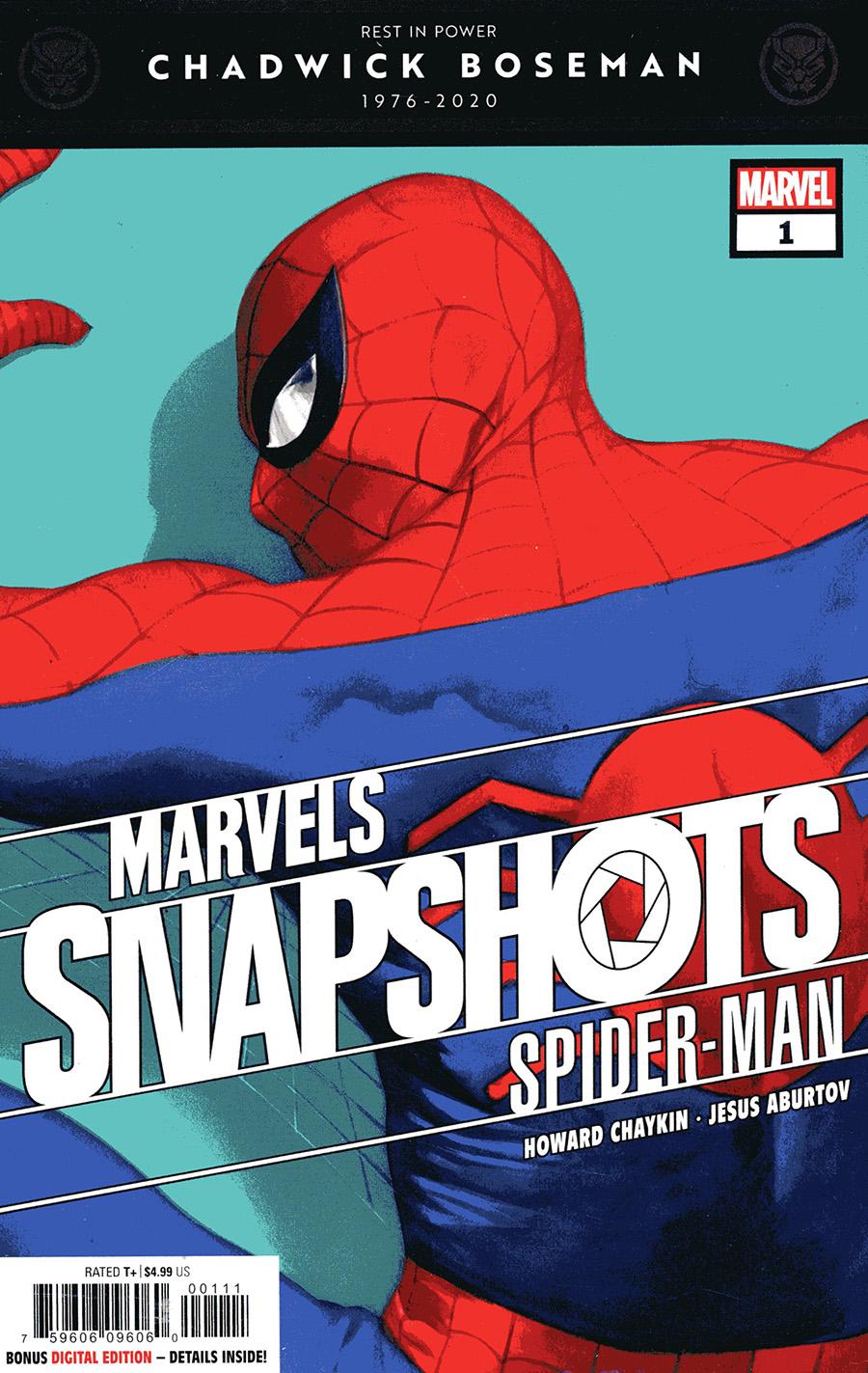 Spider-Man Marvels Snapshots #1 Cover A Regular Alex Ross Cover