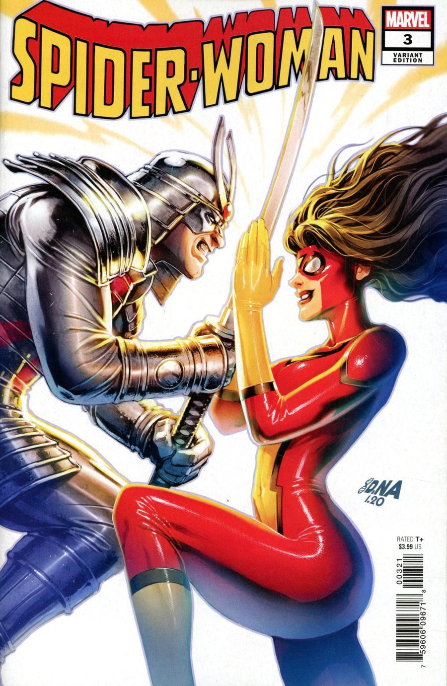 Spider-Woman Vol 7 #3 Cover B Variant David Nakayama Villain Cover