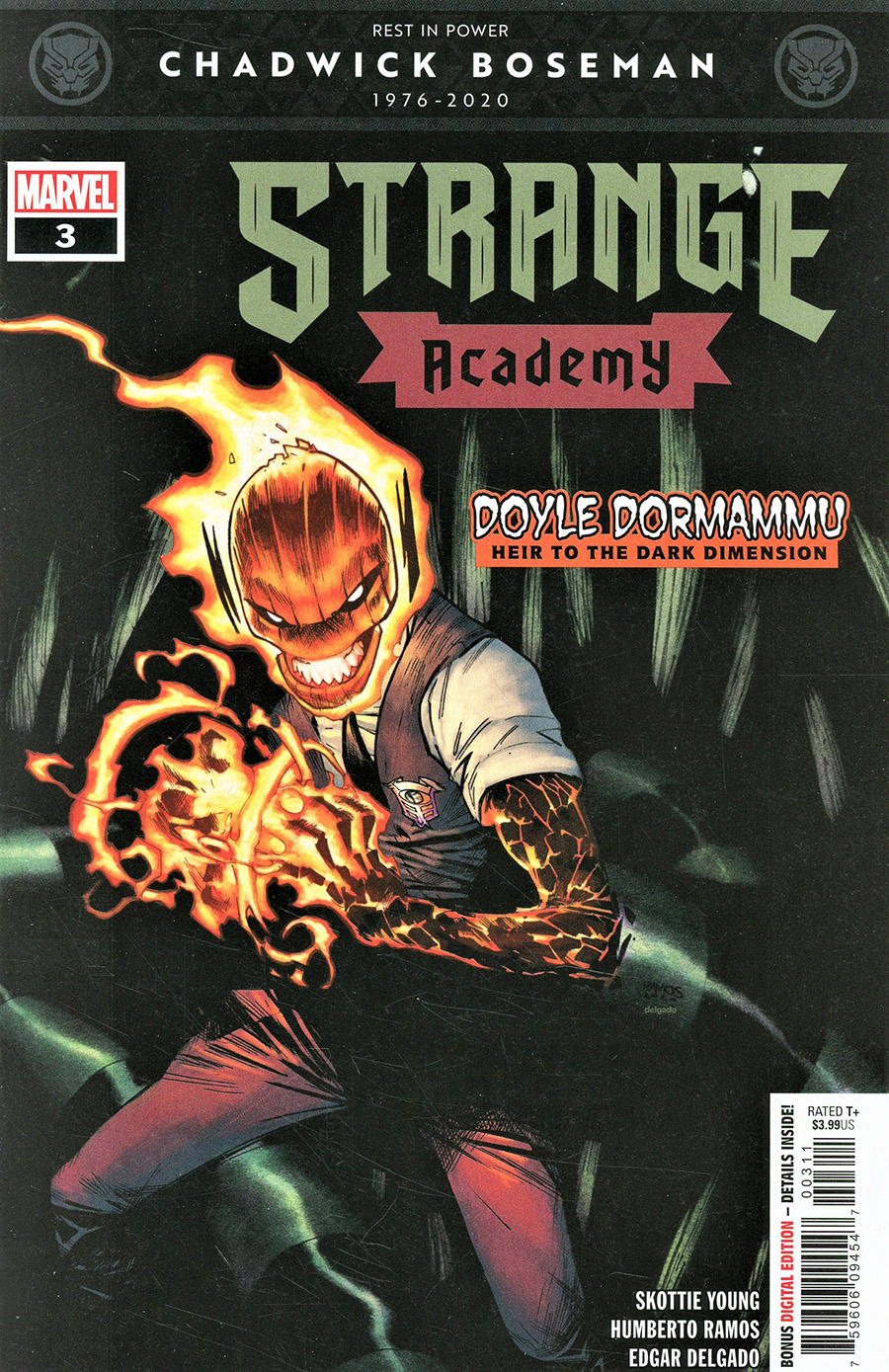 Strange Academy #3 Cover A 1st Ptg Regular Humberto Ramos Cover