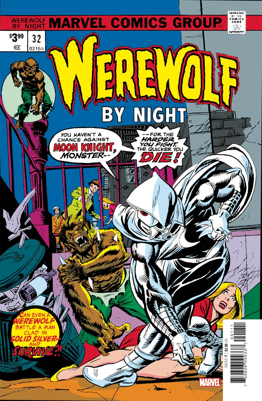 Werewolf By Night #32 Cover C Facsimile Edition (Limit 1 Per Customer)