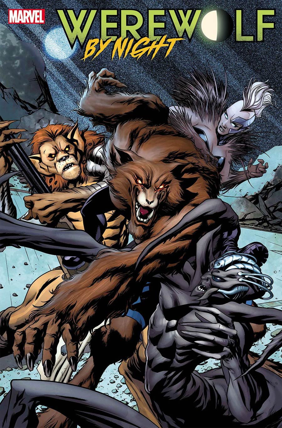 Werewolf By Night Vol 3 #2 Cover A Regular Mike McKone Cover