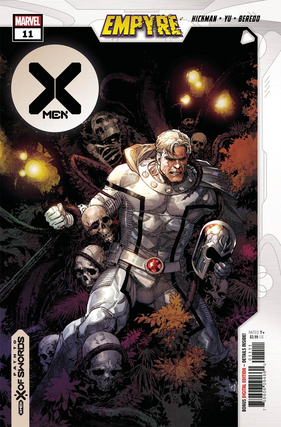 X-Men Vol 5 #11 Cover A Regular Leinil Francis Yu Cover (Empyre Tie-In)
