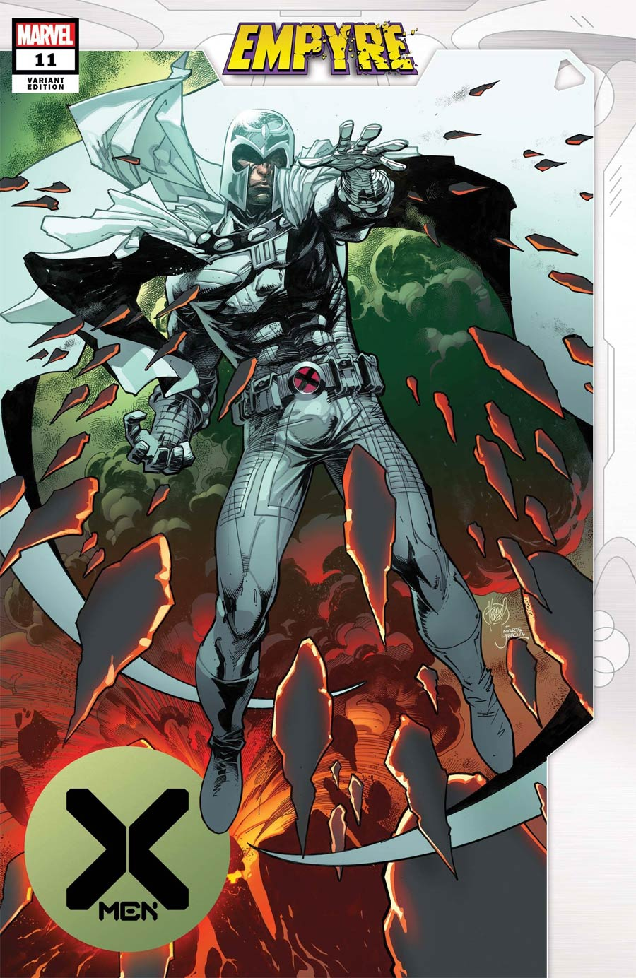 X-Men Vol 5 #11 Cover B Variant Adam Kubert Empyre Cover (Empyre Tie-In)