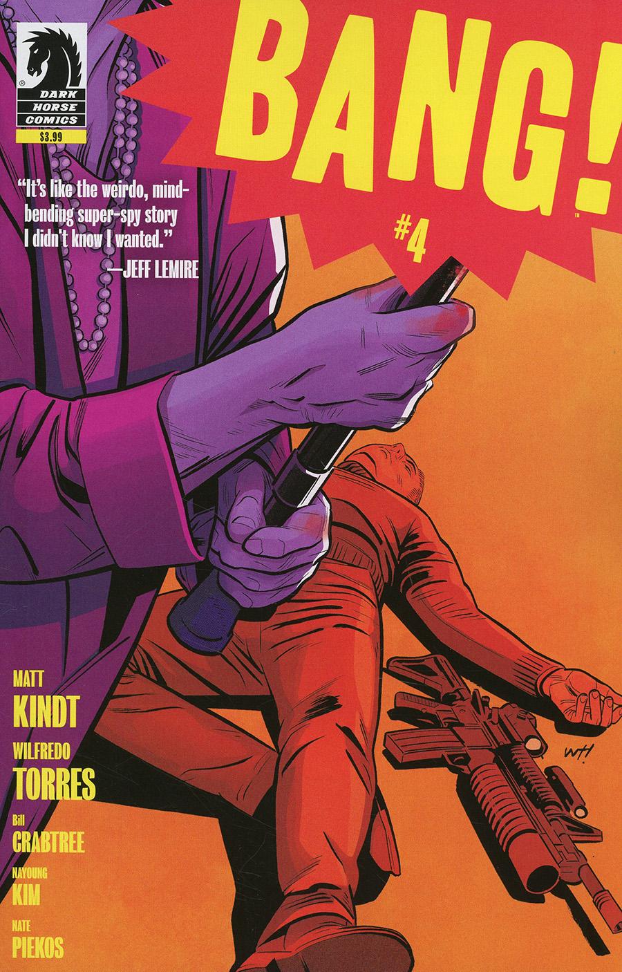BANG #4 Cover A Regular Wilfredo Torres Cover