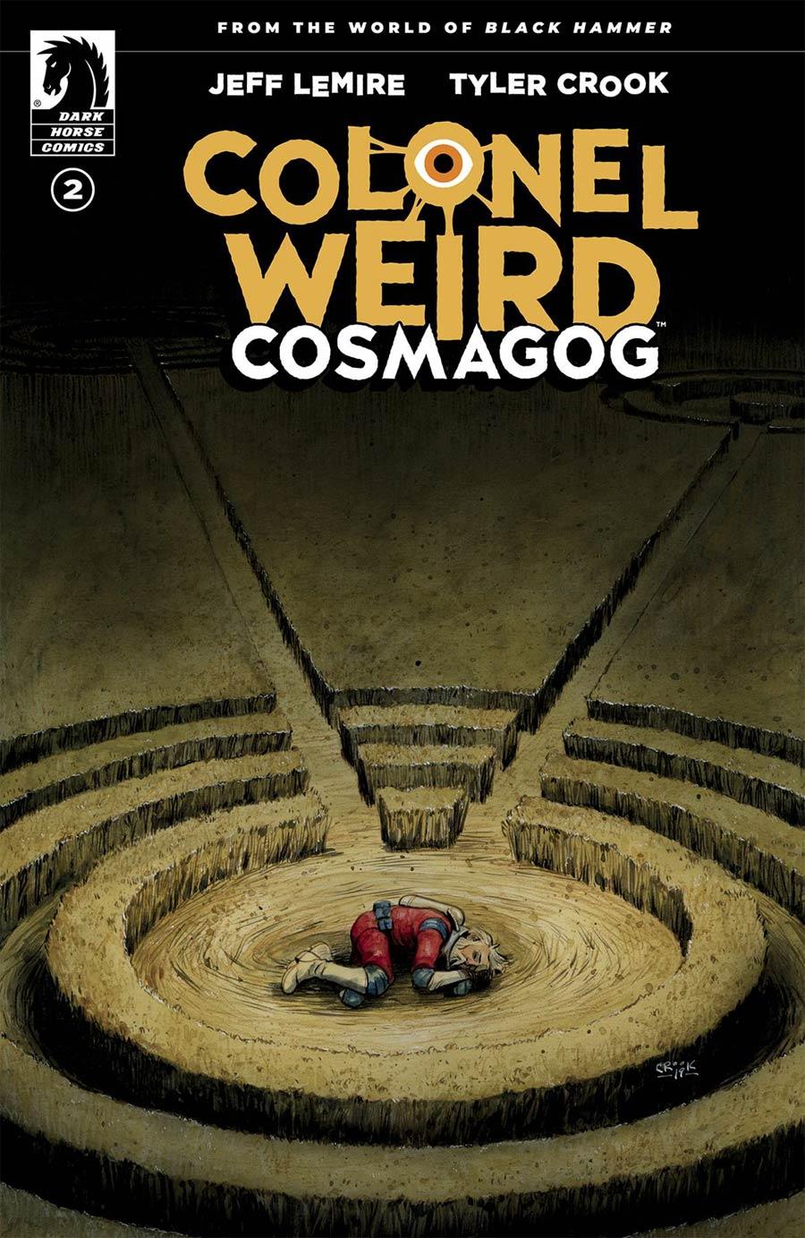 Colonel Weird Cosmagog #2 Cover A Regular Tyler Crook Cover