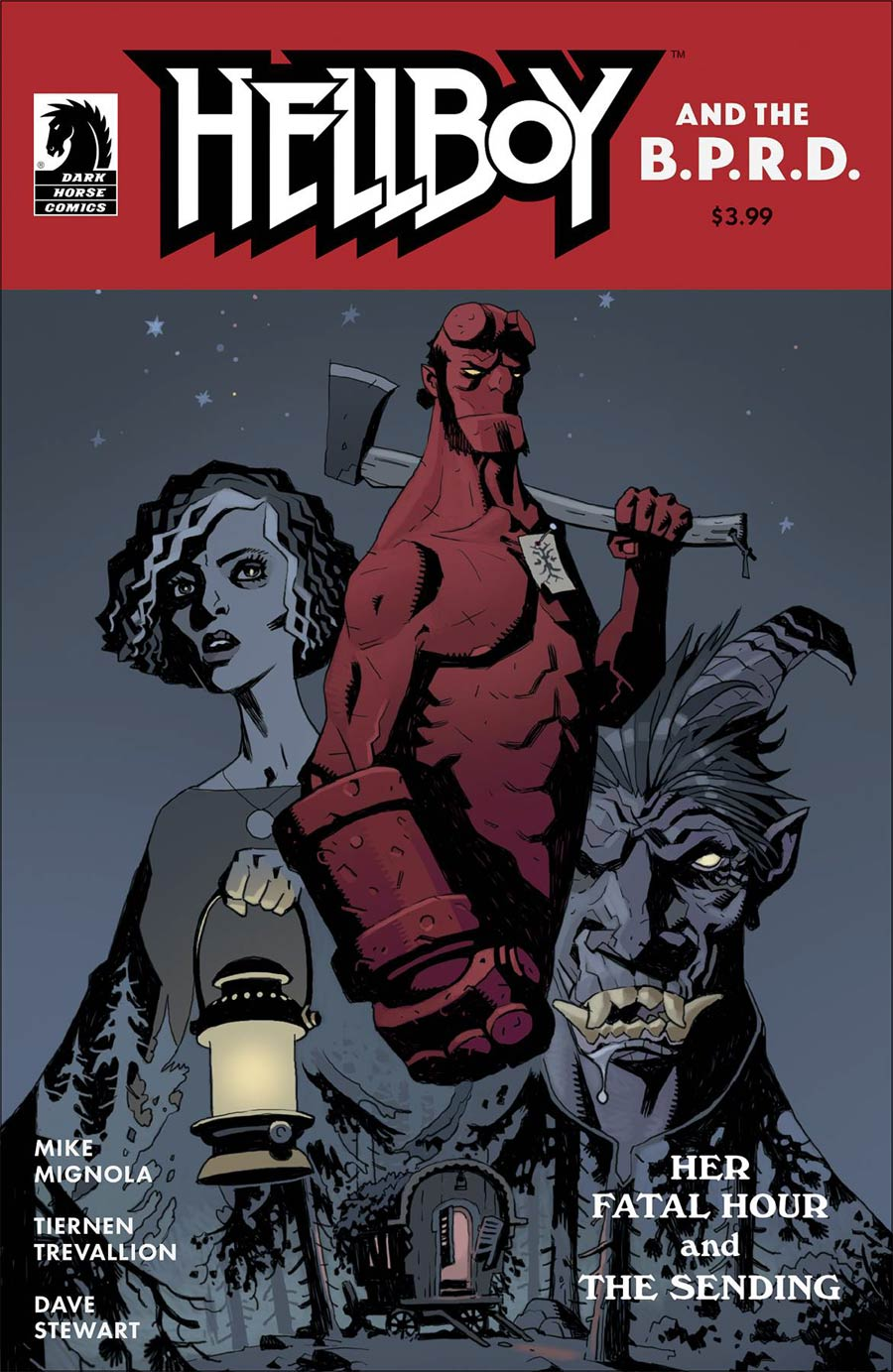 Hellboy And The BPRD Her Fatal Hour One Shot Cover A Regular Tiernen Trevallion Cover