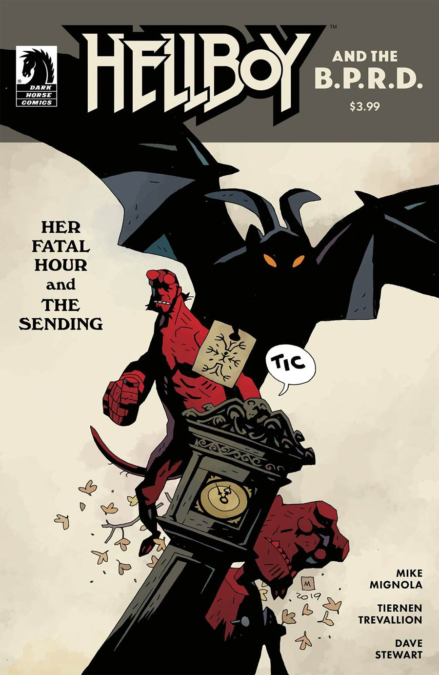 Hellboy And The BPRD Her Fatal Hour One Shot Cover B Variant Mike Mignola Cover