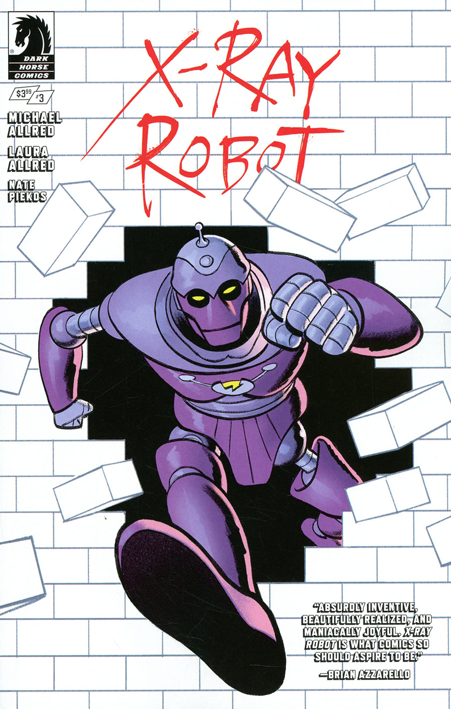 X-Ray Robot #3 Cover B Variant Greg Smallwood Cover