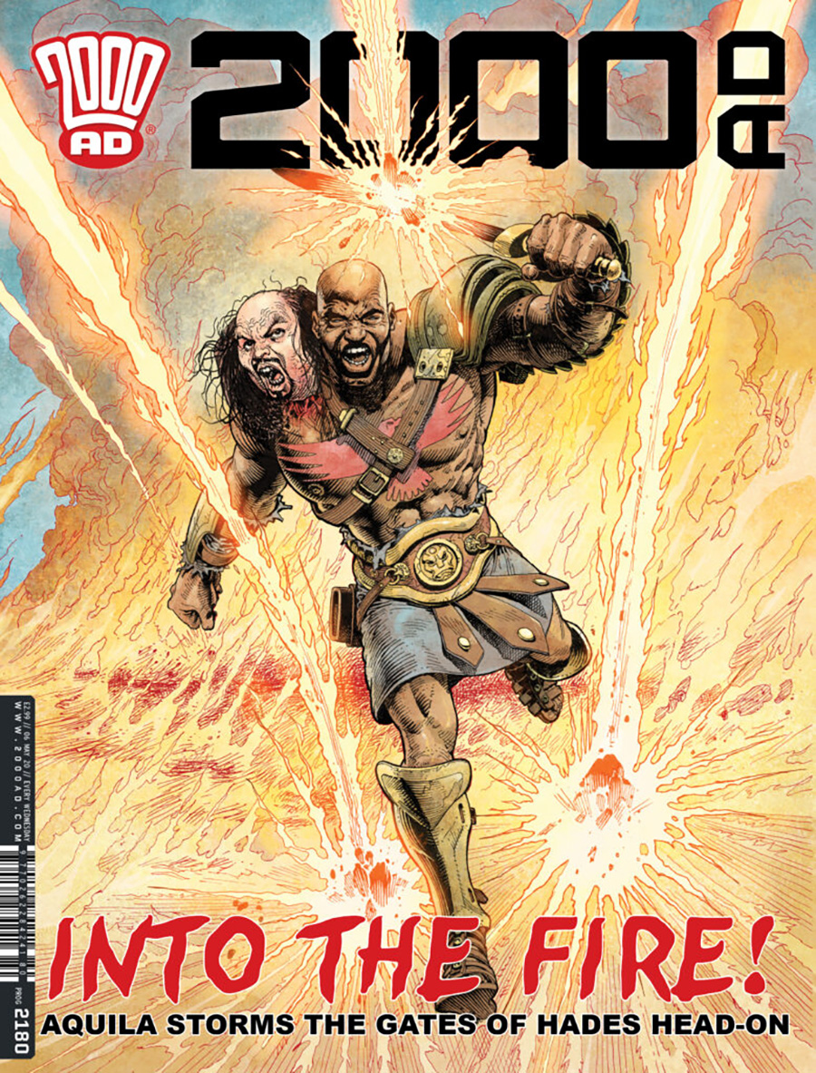 2000 AD Pack May 2020
