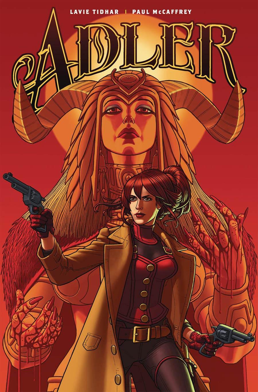 Adler #4 Cover B Variant Paul McCaffrey Cover