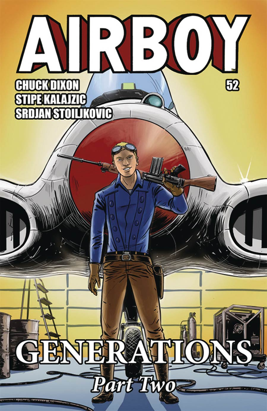 Airboy Vol 2 #52 Cover A Regular Brent McKee Cover