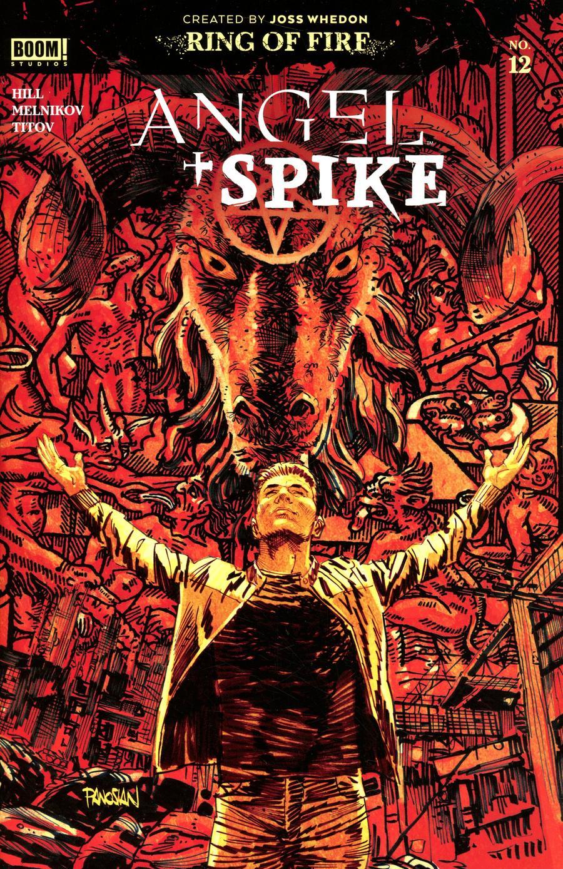 Angel & Spike #12 Cover A Regular Dan Panosian Cover
