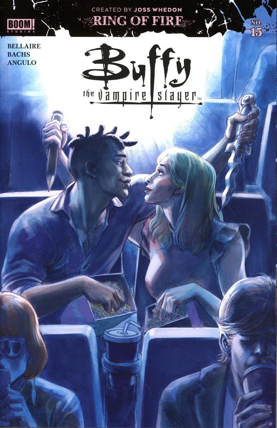 Buffy The Vampire Slayer Vol 2 #15 Cover A Regular David Lopez Cover