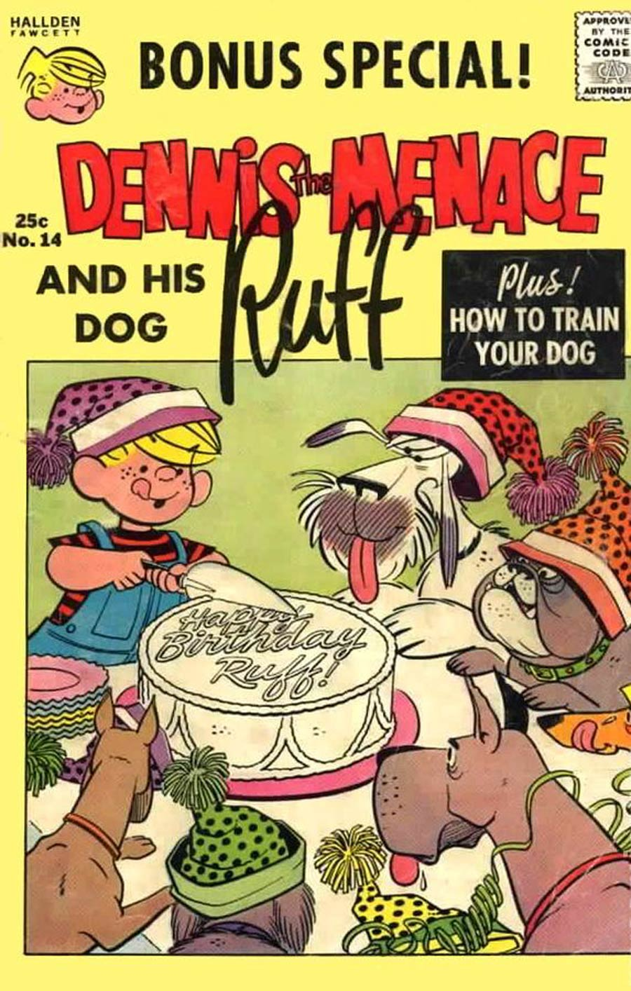 Dennis The Menace Giants And His Dog Ruff #14 (Summer 1963)