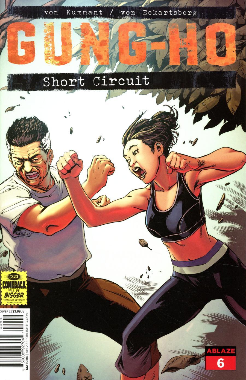 Gung-Ho #6 Cover C Variant Steven Cummings Cover