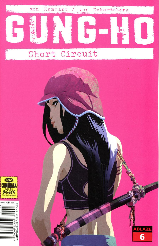 Gung-Ho #6 Cover D Variant Thomas von Kummant Yuki Pink Cover