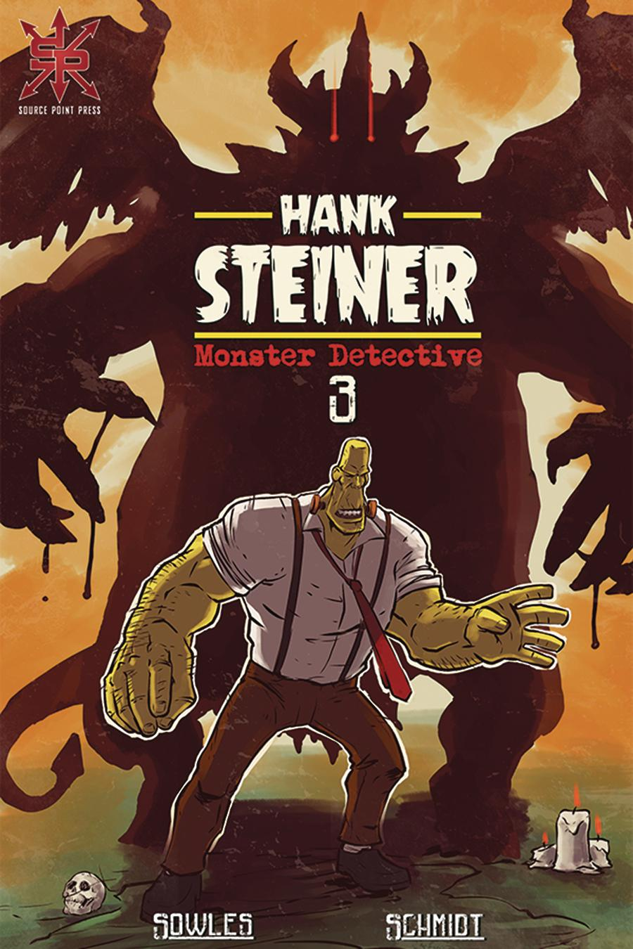 Hank Steiner Monster Detective #3