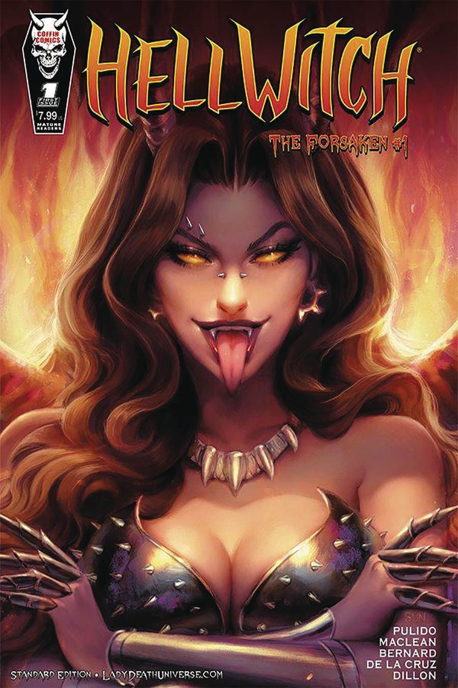 Hellwitch Forsaken #1 Cover A Regular Sun Khamunaki Cover