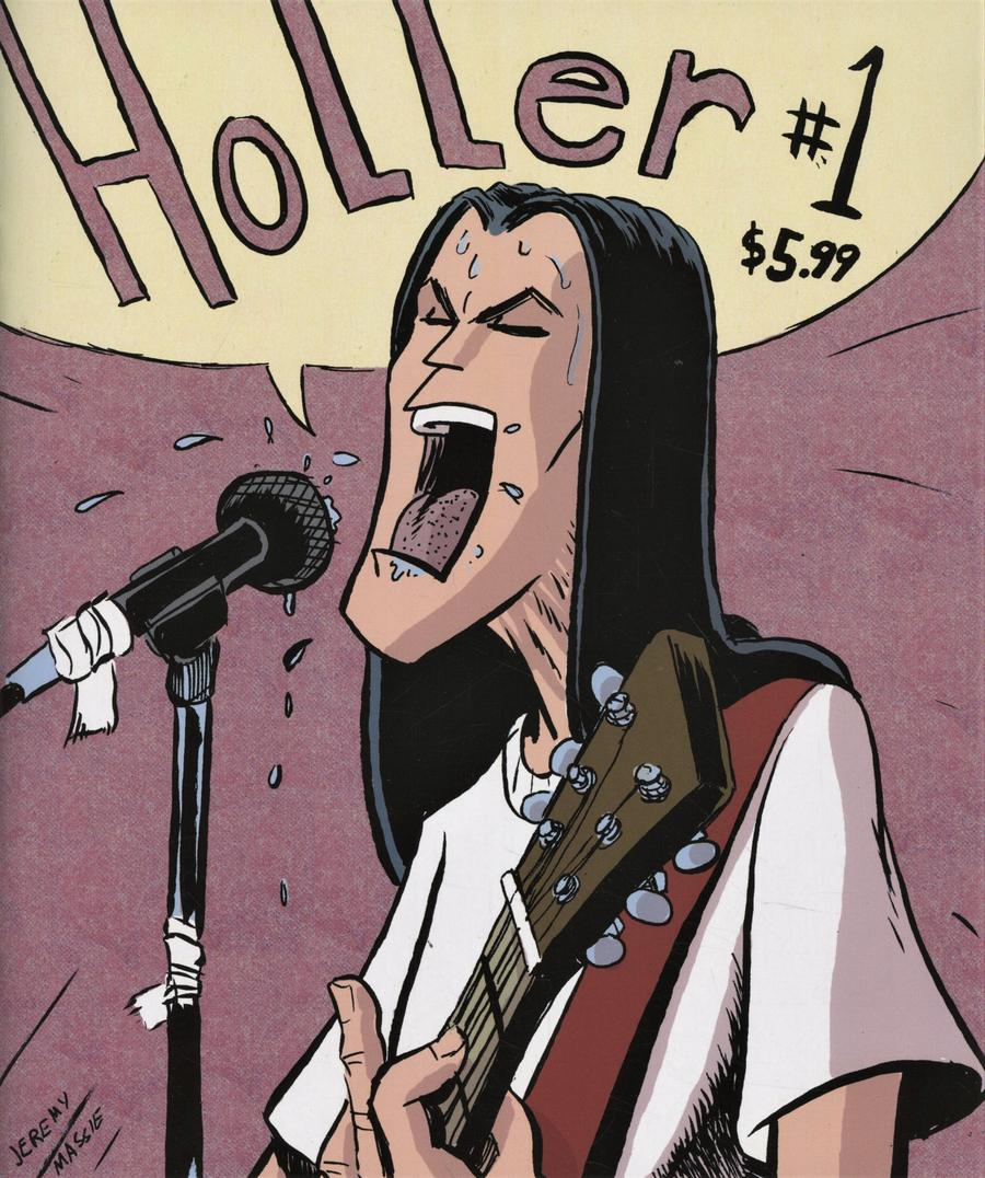 Holler #1 Cover B Variant Jeremy Massie Cover