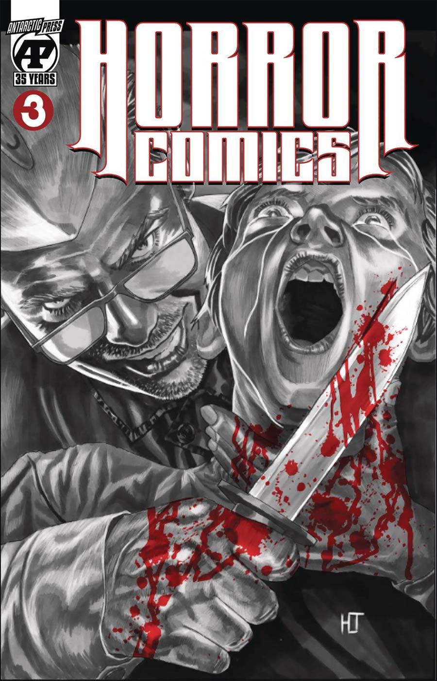 Horror Comics #3 Cover A Regular Cover