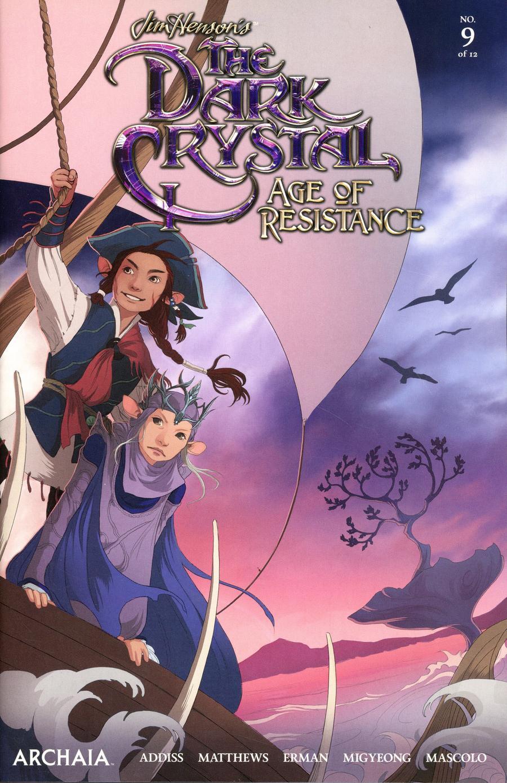 Jim Hensons Dark Crystal Age Of Resistance #9 Cover A Regular Mona Finden Cover