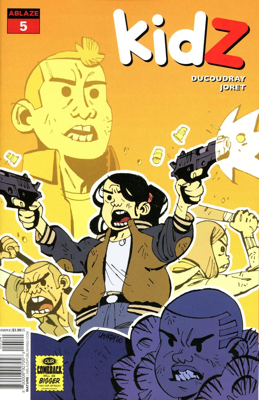 Kidz #5 Cover D Variant Jon Lankry Cover