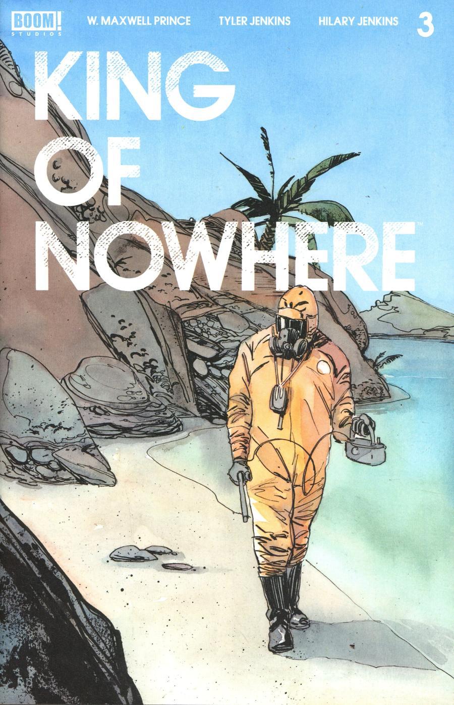 King Of Nowhere #3 Cover A Regular Tyler Jenkins Cover
