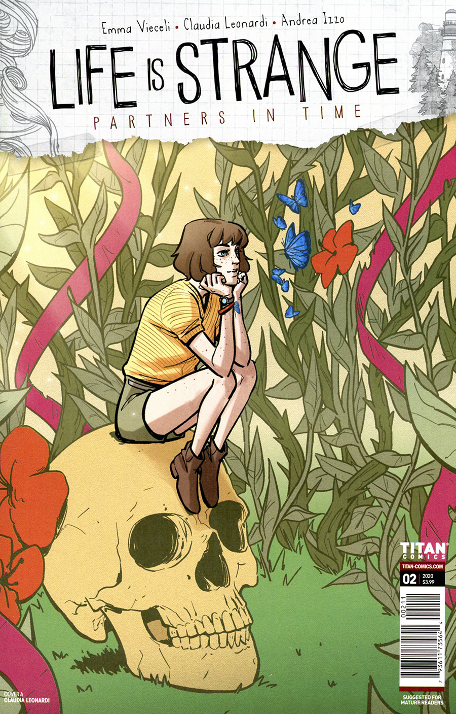 Life Is Strange Partners In Time #2 Cover A Regular Claudia Leonardi Cover