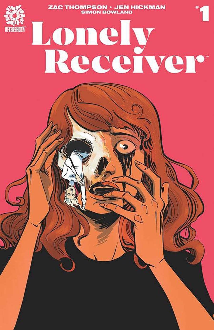 Lonely Receiver #1 Cover A Regular Jen Hickman Cover