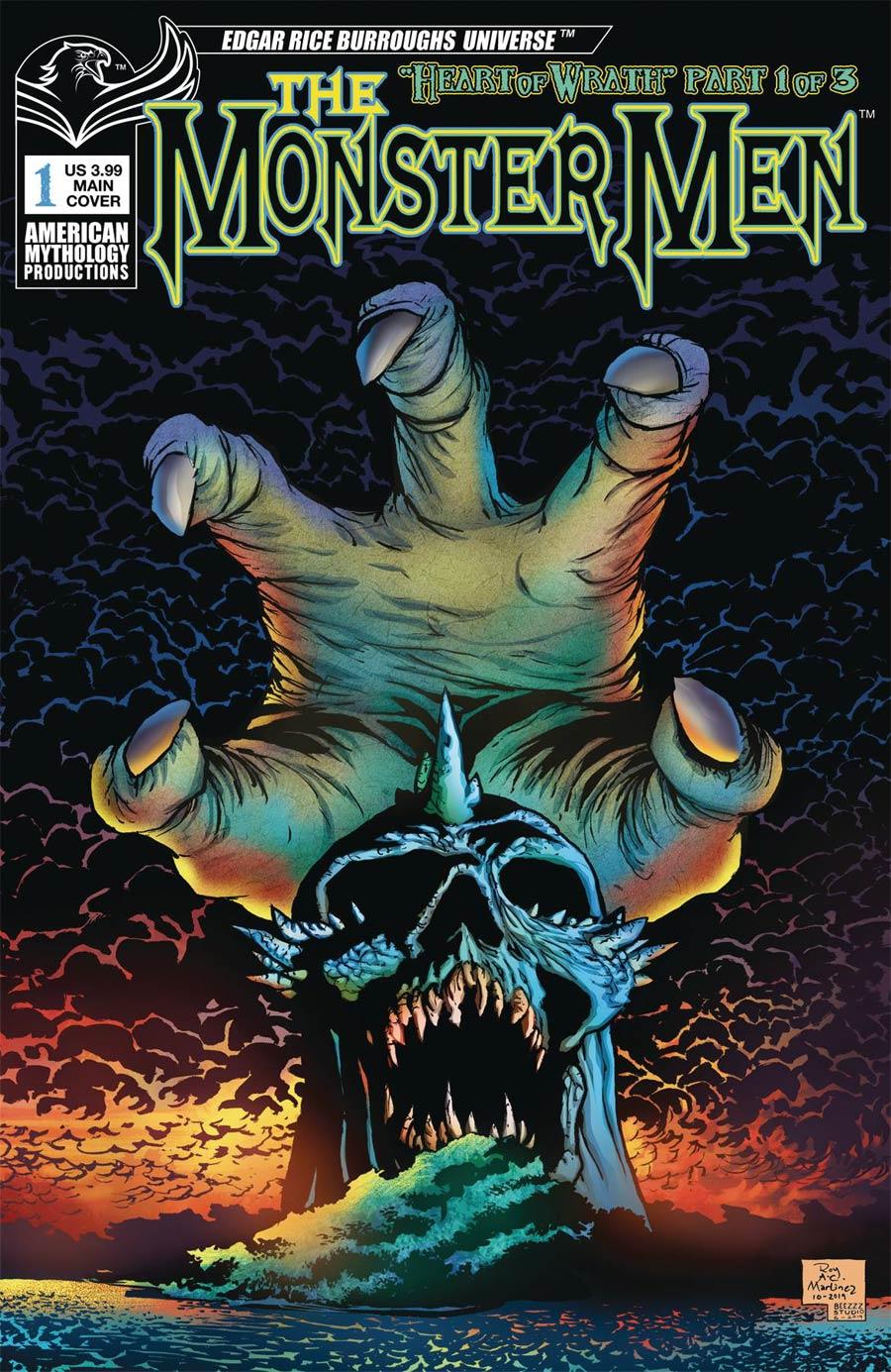 Monster Men Heart Of Wrath #1 Cover A Regular Roy Allan Martinez Cover
