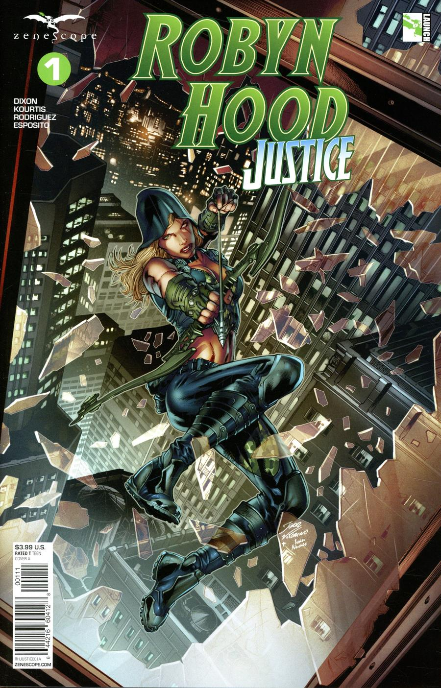 Grimm Fairy Tales Presents Robyn Hood Justice #1 Cover A Igor Vitorino