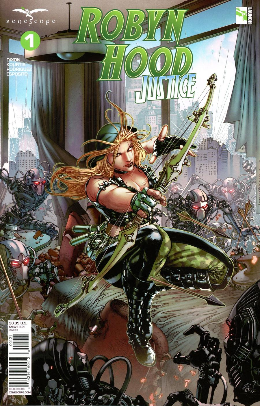 Grimm Fairy Tales Presents Robyn Hood Justice #1 Cover B Harvey Tolibao