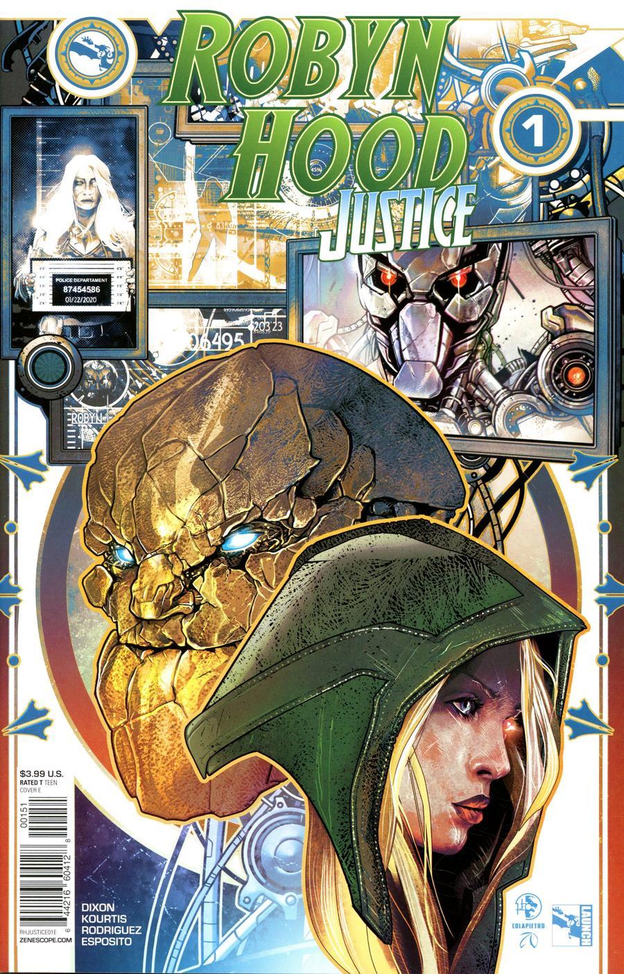Grimm Fairy Tales Presents Robyn Hood Justice #1 Cover E Leonardo Colapietro