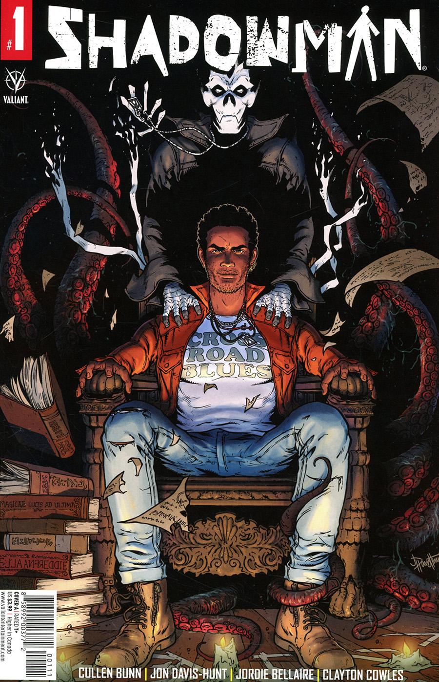 Shadowman Vol 6 #1 Cover A Regular Jon Davis-Hunt Cover - RESOLICITED