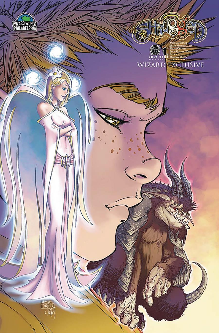 Shrugged #1 Cover E Wizard World Philadelphia 2006 Exclusive Michael Turner Variant Cover