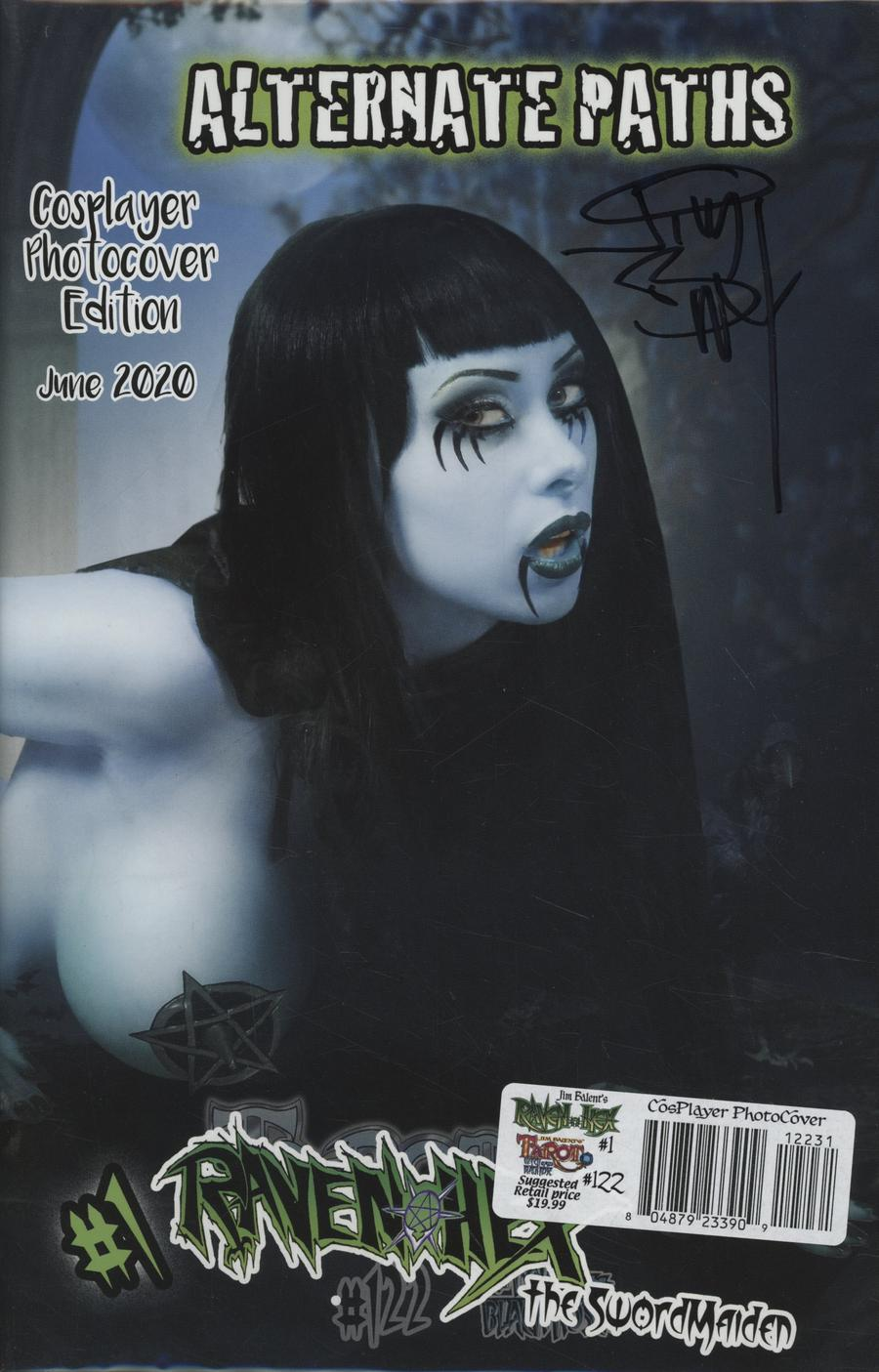 Tarot Witch Of The Black Rose #122 Cover D Limited Edition Cosplay Photo Cover