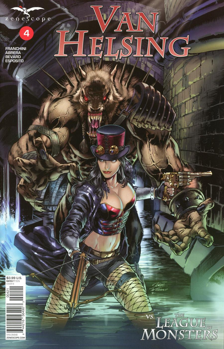 Grimm Fairy Tales Presents Van Helsing vs The League Of Monsters #4 Cover B Igor Vitorino