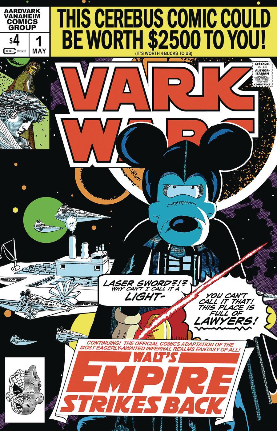 Vark Wars Walts Empire Strikes Back One Shot