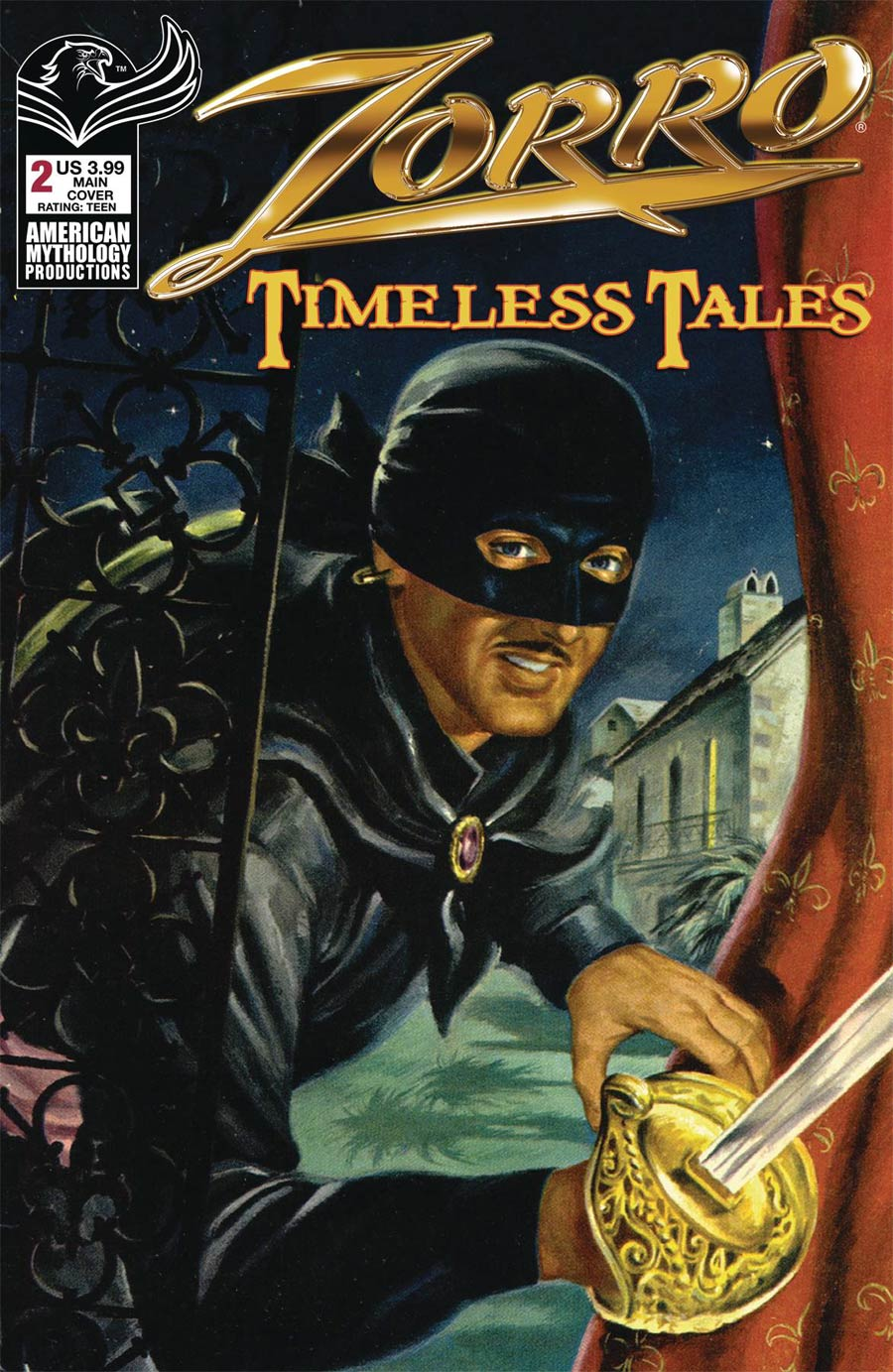 Zorro Timeless Tales #2 Cover A Regular Cover