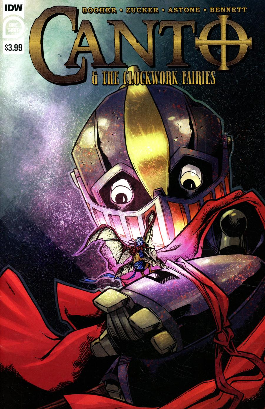 Canto And The Clockwork Fairies One Shot Cover A 1st Ptg Regular Drew Zucker Cover